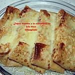 recette Crêpes fourrées à la cancoillotte au vin blanc