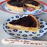 recette Tarte crémeuse aux poires et abricots
