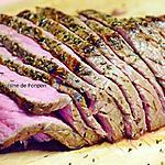 recette Rosbeef cuit à basse température