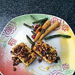 recette Tofu en croûte d'épices
