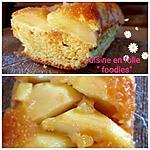 recette Cake aux pommes et rhum caramel au rhum! (recette façile)