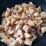 recette Poêlée pommes de terre champignons noix canard
