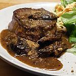 recette Tournedos Sauce aux Pruneaux et au Pain d'Épices