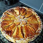 """recette """" Mi- tourte Mi- tarte     """"   aux pommes & poires  spéculoos       ...........     Une bombe de tarte !!!"""