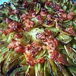 recette gratin à la pomme de terre et saumon fumé
