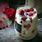 recette Tiramisu aux fruits rouges et violette pour la St Valentin