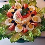 recette Salade de riz et thon