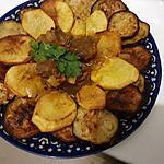 recette Tajine d'aubergine