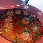 recette Tajine de boulette de kefta