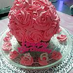 recette Birthday  Cupcake # géant  .......... à la framboise