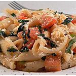 recette Pennes aux tomates, basilic et feta