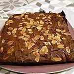recette Brownies moelleux au chocolat