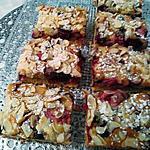 recette Petits goûters des retraitées ......    aux fruits rouges     &      amandes