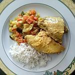 recette Poulet créole à la noix de coco