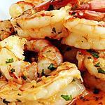 recette Crevettes Grise Sautée a l ail et Persil