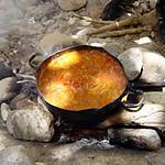 recette fèves au coulis de tomates en 10 mns (direct de Jordanie) un petit voyage et une recette pour vous