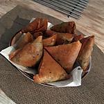 recette Samoussas aux pommes de terre et au bœuf