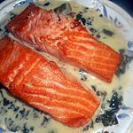 recette Pavé de saumon a l oseille