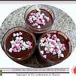 recette Danette au chocolat et sirop d'érable