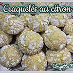 recette CRAQUELÉS AU CITRON