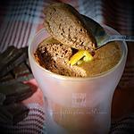 recette Mousse au chocolat et orange confite