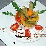 recette Timbale au thon et poivrons marinés du blog cccuisine.over-blog.com