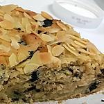 recette Moelleux poire/amandes/pepites chocolat
