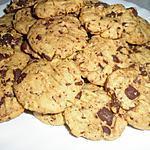 recette Cookies au beurre de cacahuette