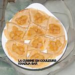 recette Crêpes aux poires caramélisées