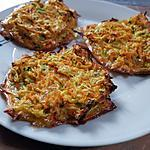 recette Galettes carottes-courgettes
