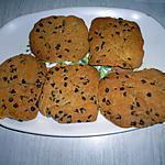 recette Cookies au pépites de chocolat