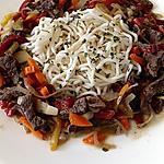 recette nouilles chinoise boeuf légumes