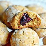 recette Biscuit à la confiture de gingembre et miel