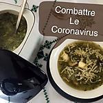 recette Soupe aux crevettes et légumes