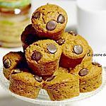 recette Moelleux à la pâte à tartiner aux châtaignes et chocolat et écorce d'orange confite, sans farine