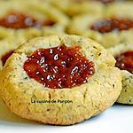 recette Biscuit aux noisettes, épices pain d'épices et confiture de lait