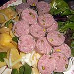 recette Salade de pommes de terre saucisson de lyon
