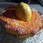 recette Gâteau à la fois moelleux  fondant intense  aux citrons  bio de la Picardie