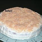recette Gâteau fraise et crème chantilly
