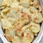 recette gratin pomme de terre- poireaux- lardons fumé