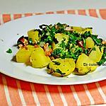 recette Salade au lard et pissenlit, spécialité ardennaise