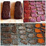 recette Recette de la viande salée sous-vide puis séchée et du boeuf jerky