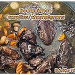 recette BOURGUIGNON A LA COCOTE MINUTE