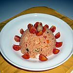 recette Taboulé surimi/poivrons......