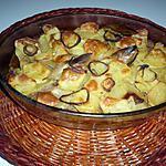 recette Gratin Ps de terre/viande hachée/tomates......