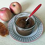 recette Confiture de pommes au thermomix