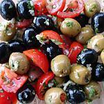 recette spécialité olives pour picoré a l'appéritif