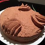 recette Gâteau a la ganache montée
