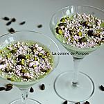 recette Panna cotta à la pistache et spiruline