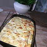 recette Quenelles au jambon et a la béchamel